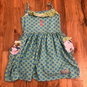 Eleanor Rose dress size 7-8